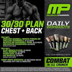 Mp workout of the day get swole phase 2 shoulders and abs by musclepharm daily workouts monday chest back tag a friend welivethis realathletesrealscience mpnation malvernweather Images