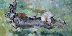 """Run Rabbit Run"" - Carlene Dingman Atwater"