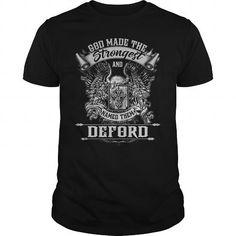 DEFORD DEFORDYEAR DEFORDBIRTHDAY DEFORDHOODIE DEFORDNAME DEFORDHOODIES  TSHIRT FOR YOU