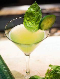 Cucumber Basil Cocktail Recipe