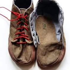 Desert Boots, Homemade Shoes, Shoemaking, Barefoot Shoes, How To Make Shoes, Crochet Slippers, Bare Foot Sandals, Crochet Fashion, Handmade Clothes