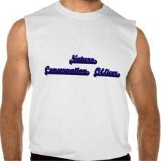 Nature Conservation Officer Classic Job Design Sleeveless T-shirt Tank Tops