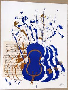 Arman Concert violons violoniste musicien par MarieArtCollection