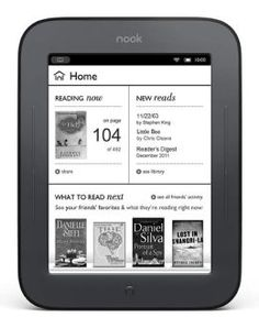 The Barnes & Noble Nook Simple Touch Reader is more than merely a worthy competitor to the Kindle, as I wrote when I saw the e-book reader demonstrated late last month. Now that we've tested the device in our labs,. E Book Reader, Easy Reader, Reading Notes, Reading At Home, Reading Habits, Reading Response, Books To Read, My Books, Before Midnight
