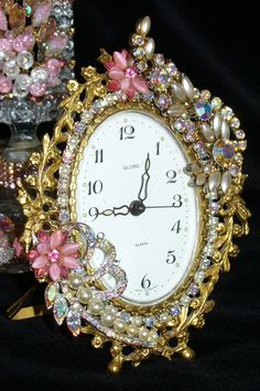 A Blingy clock...