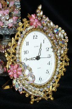 A Blingy clock...