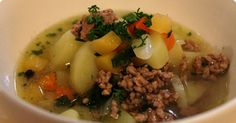 Jauhelihakeitto / Minced beef soup