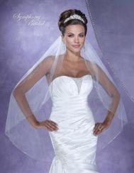 "Symphony Bridal ""In Stock"" Veil - Style 6124VL"
