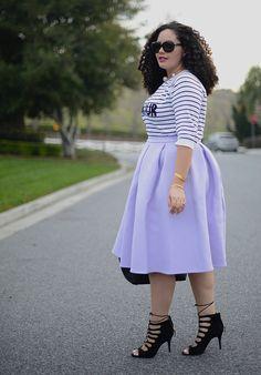 :: Stripes & Lilac ::