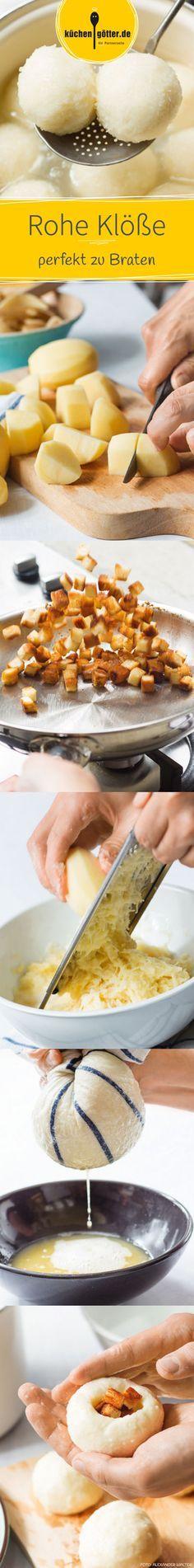 Kartoffelklößchen mit Speck auf schlesische Art Recipe Thermomix