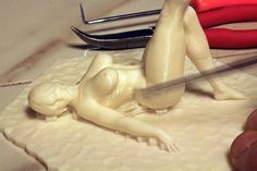 Richard Swika Unleashes the Controversial 3D Printed 'Sexy Jello Wrestling' Collection - http://3dprint.com/56636/sexy-jello-wrestling-3d-print/…