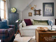 Shon Parker Shon Parker Design Inc. Atlanta Homes, Bonus Rooms, Painting Cabinets, 2nd Floor, Wall Colors, Game Room, Interior Inspiration, Living Spaces, Living Rooms