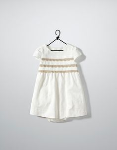 jacquard dress with lace - Dresses - Baby girl (3-36 months) - Kids - ZARA United States