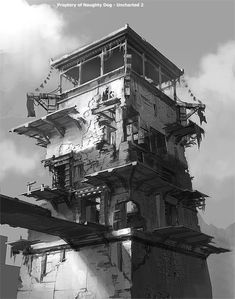 Gompa Tower from Uncharted 2: Among Thieves