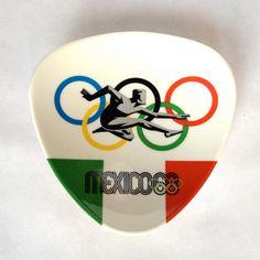 Vintage Melamine Mexico 68 Olympics Souvenir by ModLoungeVintage, $28.00