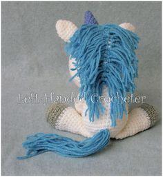 Fairytale Series – Stanley the Unicorn Stuffed Animal Patterns, Dinosaur Stuffed Animal, Cat Crafts, Joann Fabrics, Crochet Toys, Fairy Tales, Cute, Rainbows, Crochet Ideas