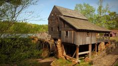 Take a walk around Historic Yates Mill County Park in Raleigh.