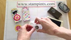 How to Create a Mini Treat Holder using the Two Tags Die