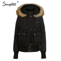 ae4dde5c1082 Simplee Hood Padded Parka Winter Jacket. Hooded JacketHooded ParkaWinter  Jackets WomenCoats For WomenSnow ...
