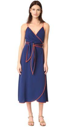 Tory Burch Grotto Wrap Dress