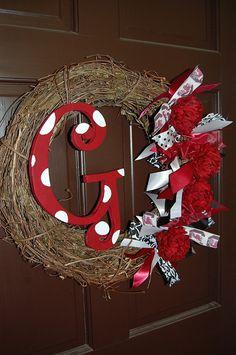 Cute Gamecock wreath