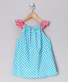 Take a look at this Haley and the Hound Aqua Polka Dot Tunic - Infant, Toddler & Girls by Booth Parker on today! Angel Sleeve, Cotton Tunics, Infant Toddler, Toddler Girls, Aqua, That Look, Polka Dots, Cute Outfits, Summer Dresses