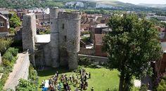 Lewes Castle, Sussex, UK