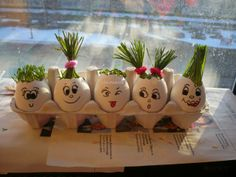 egg-heads spring craft tutorial