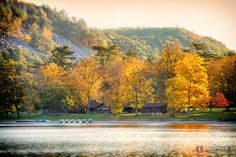 October on the south shore of Devil's Lake State Park