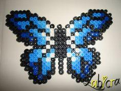 Butterfly hama perler by zabicra