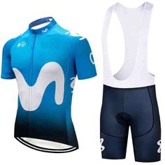 8652cbfd5 Movistar Uci Mtb Team Cycle Tops Racing Wear Custom Cycling Suits Aero  Downhill Maillot Cycling Jersey