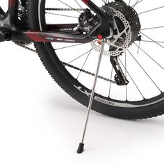 Removable and Folding Bicycle Bike Cycling Kickstand Parking Racks with Stainless Steel Material For 26 Mountain Bike and 700C Road Bike. ✅Removable,Folding ,Portable,Super light and Easy to install,Attach & Detach Quickly. ✅Advanced & Fashion Design, Lightweight, wear-resistant, non-slip, anti-corrosion. ✅Fit for most MTB Mountain Bikes, Trekking Bikes, Folding Bikes and Road Bikes 26/27.5/700c wheelset size. ✅Stainless Steel material, steady stand and durable bike kickstand in use. ✅A...