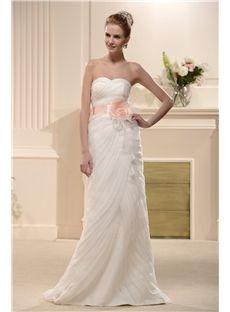 Fancy Organza Trumpet/Mermaid Sweetheart Sleeveless Bridal Wedding Dress  & unique Wedding Dresses
