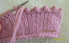Diy Crafts - knitting,knittingtechniques-Knitting Closure Techniques How to Make a Pico Thread Closure . Baby Knitting Patterns, Knitting Stiches, Knitting Videos, Knitting Charts, Crochet Videos, Lace Knitting, Crochet Stitches, Knit Crochet, Crochet Patterns