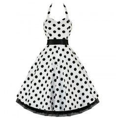 Vintage Style White Polka Dot Swing Pinup Halter Dress (XS) Private Label,http://www.amazon.com/dp/B00CLWWLOI/ref=cm_sw_r_pi_dp_SYO1rb190BAJ1MPH