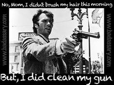 how to clean very dirty gun