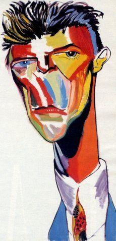 David Bowie by Philip Burke