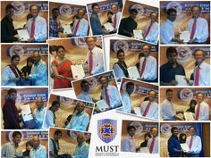Certificate Distribution Ceremony at MUST, Malaysia