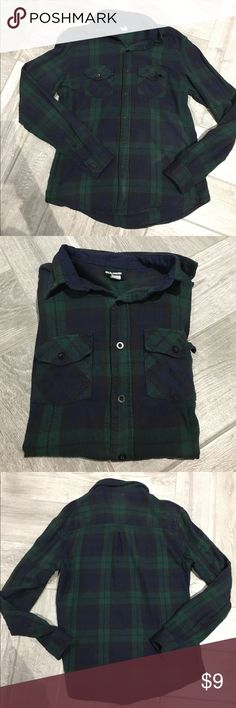 Urban Outfitters 100% Plaid Shirt Used Urban Outfitters BDG brand plaid shirt. size small, 💯 % cotton! Selling cheap! In good condition with minimal damage (small spot where it is a little faded from washing on right buttom, not really noticeable unless looking super close) . All buttons attached. Urban Outfitters Tops Button Down Shirts
