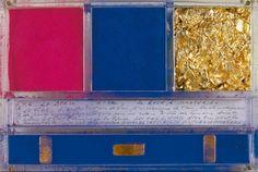 Secondo ex voto di Yves Klein a Santa Rita da Cascia, immagine dal web