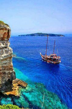 Paxos Island, Greece