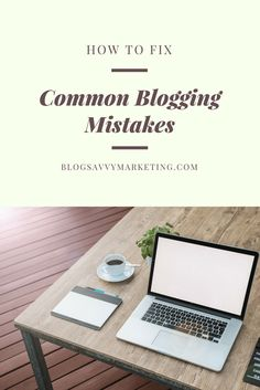 If you're new to blogging learn the 5 biggest mistakes that new bloggers make. Find out the tips so you can avoid making these mistakes on your blog.