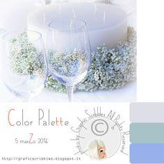Color Palette of 5 aprile 2014-Cena a lume di candela http://graficscribbles.blogspot.it/2014/04/color-palette-of-5-aprile-2014-cena.html
