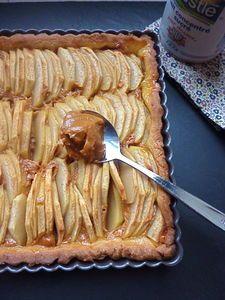 Tarte aux pommes au toffee