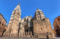 Toledo Cathedral - UNESCO World Heritage Site: The Historic City Of Toledo, Spain