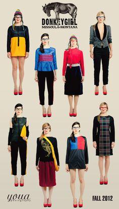 Donkey Girl Fall 2012 Fashion Line