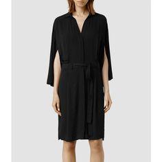 AllSaints Mono Dress (£170) via Polyvore