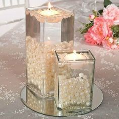 DIY Wedding Centerpieces to surprise your guests, help digit 7088953759 - Exquisite centerpiece tips to organize and produce a very splendid and memorable center piece. diy wedding centerpieces gold help produced on this day 20190409 , Pearl Centerpiece, Diy Centerpieces, Simple Elegant Centerpieces, Centerpiece Flowers, Elegant Table, Decoration Evenementielle, Flowers Decoration, Cheap Wedding Flowers, Wedding Table Ideas Without Flowers