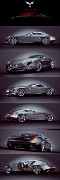 INVISIUM CONCEPT CAR ' ARRANO Paulo Czyżewski on Behance