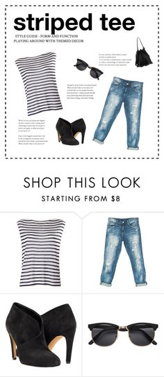 """striped tee. must have"" by susanne-grasshof on Polyvore featuring T By Alexander Wang, Sans Souci, Loeffler Randall, MustHave, jean, boyfriend and stripedshirt"
